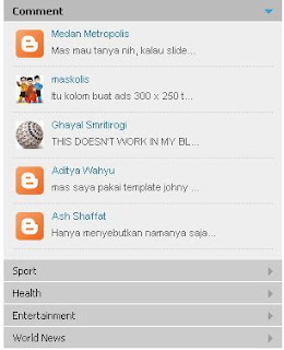 Membuat Menu Accordion Tanpa Edit HTML