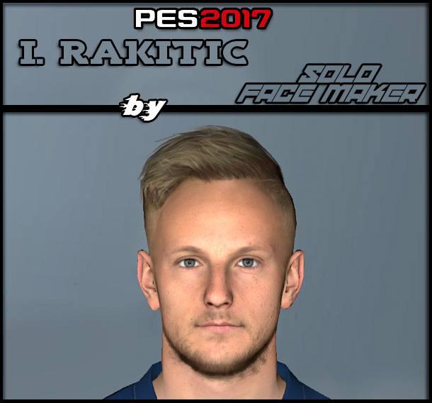 PES 2017 I. Rakitic face
