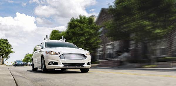 福特攜手四家新創團隊,計畫2021年推自駕共享車