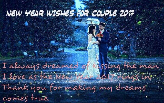 Romantic Happy New Year Wishes For Boyfriend