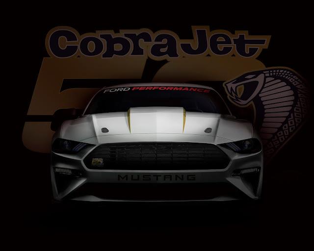 Ford Mustang Cobra Jet chega no 2º semestre - EUA