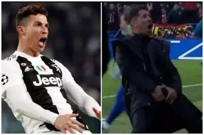 Ronaldo cojones celebration
