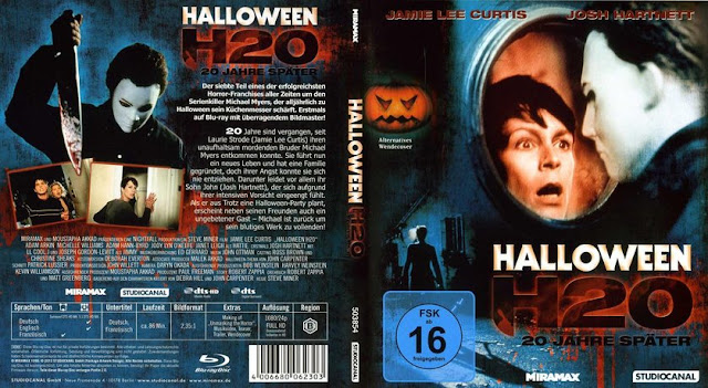 The Horrors of Halloween: HALLOWEEN H20: 20 YEARS LATER (1998) VHS ...