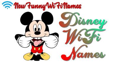 Disney wifi names