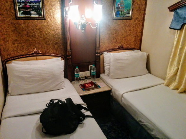 Luxurious rooms inside the Golden Chariot Train