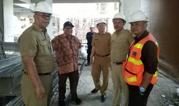 dpupr diminta audit berkala pembangunan gedung setda kota cirebon