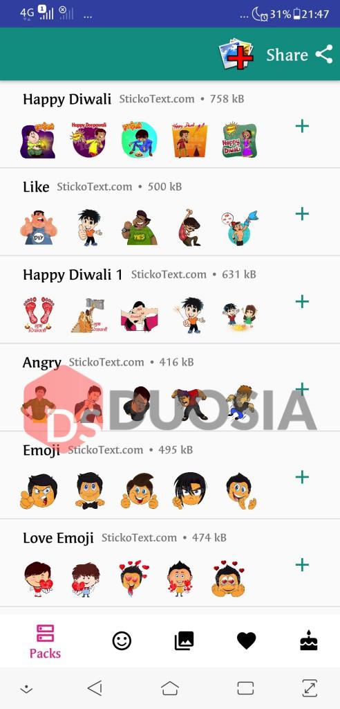 Cara Mengirim WhatsApp Sticker kepada Seseorang Tanpa Ribet