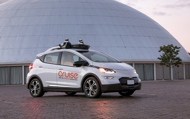 GM acquires developer of self-driving vehicle sensors