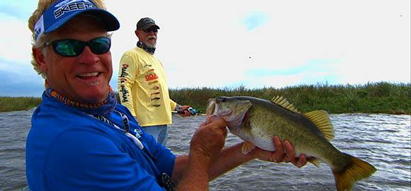 Bass Fishing Okeechobee