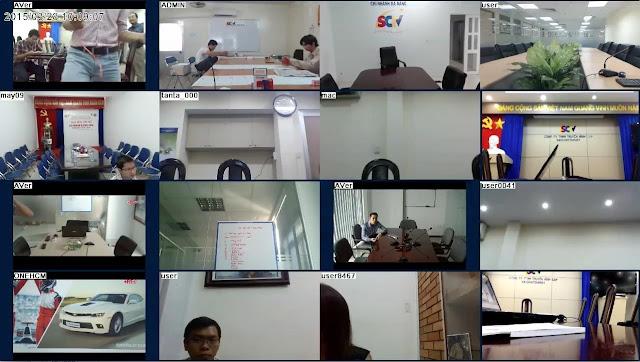 Triển khai hệ thống giải pháp hội nghị truyền hình AVer cho SCTV