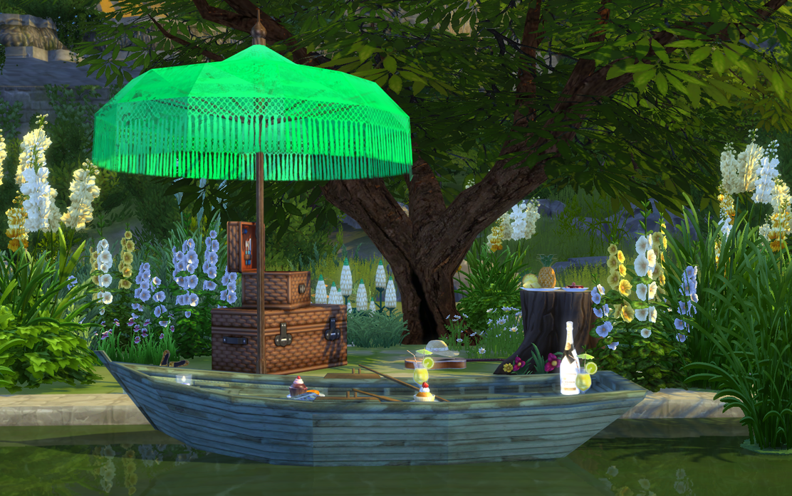 Sims 4 cc 39 s the best the old boat deco by sims 4 studio for Deco appartement sims 4