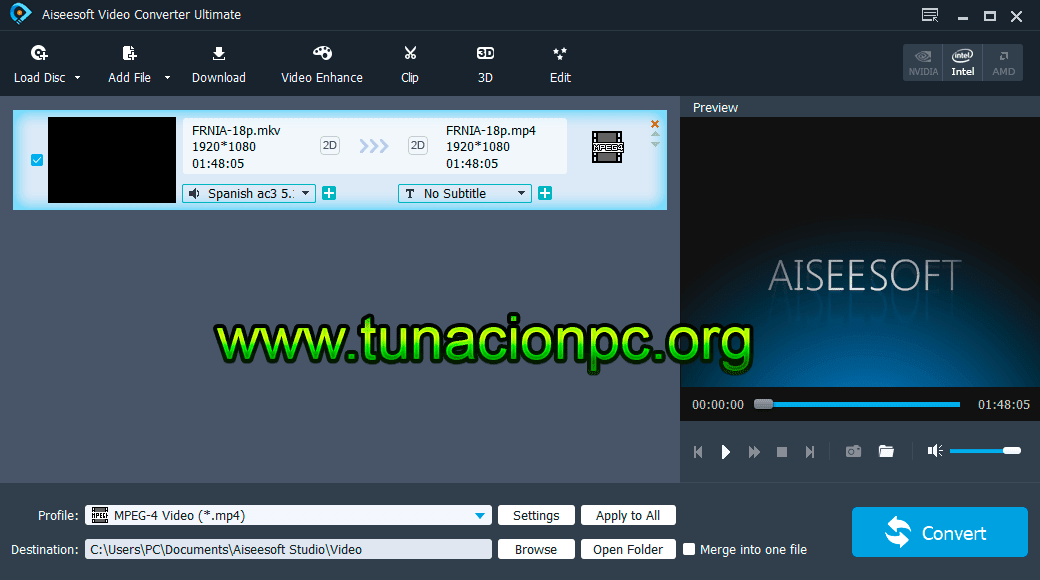Aiseesoft Video Converter Ultimate Full Español