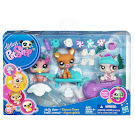 Littlest Pet Shop 3-pack Scenery French Bulldog (#1757) Pet