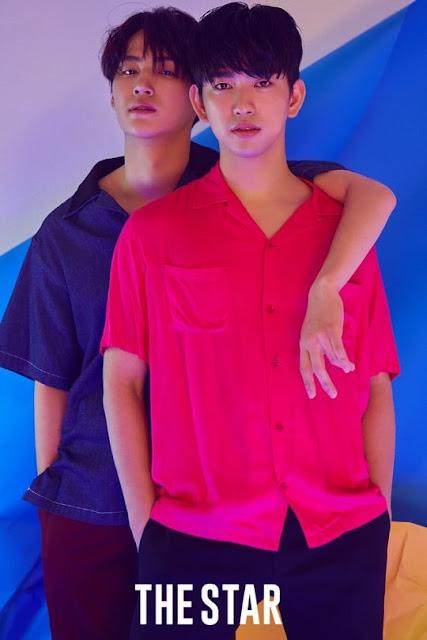The Star Agustus 2 JB dan jinyoung GOT7