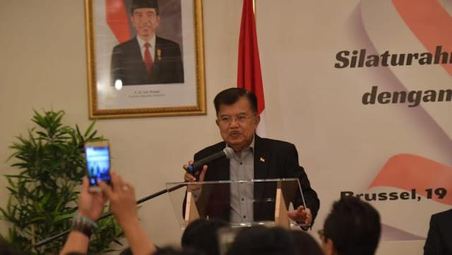 Jusuf Kalla Singgung Kasus Ratna Sarumpaet Dan Mengingatkan Timses Jokowi Harus Berhati Hati