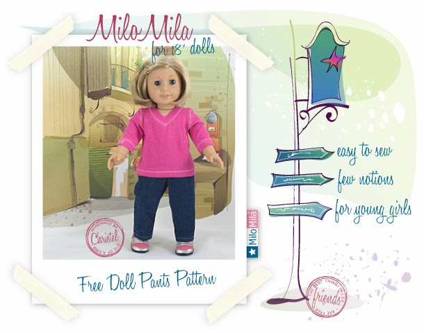 http://www.milomila.com/free_pants_pattern.asp