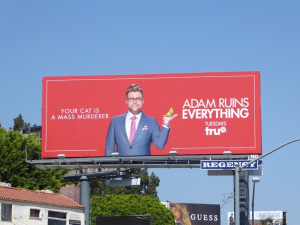 Adam Ruins Everything season 2 billboard