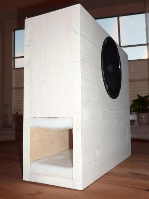 2a3 maniac diy wall transmissionline mit visaton bg 17. Black Bedroom Furniture Sets. Home Design Ideas