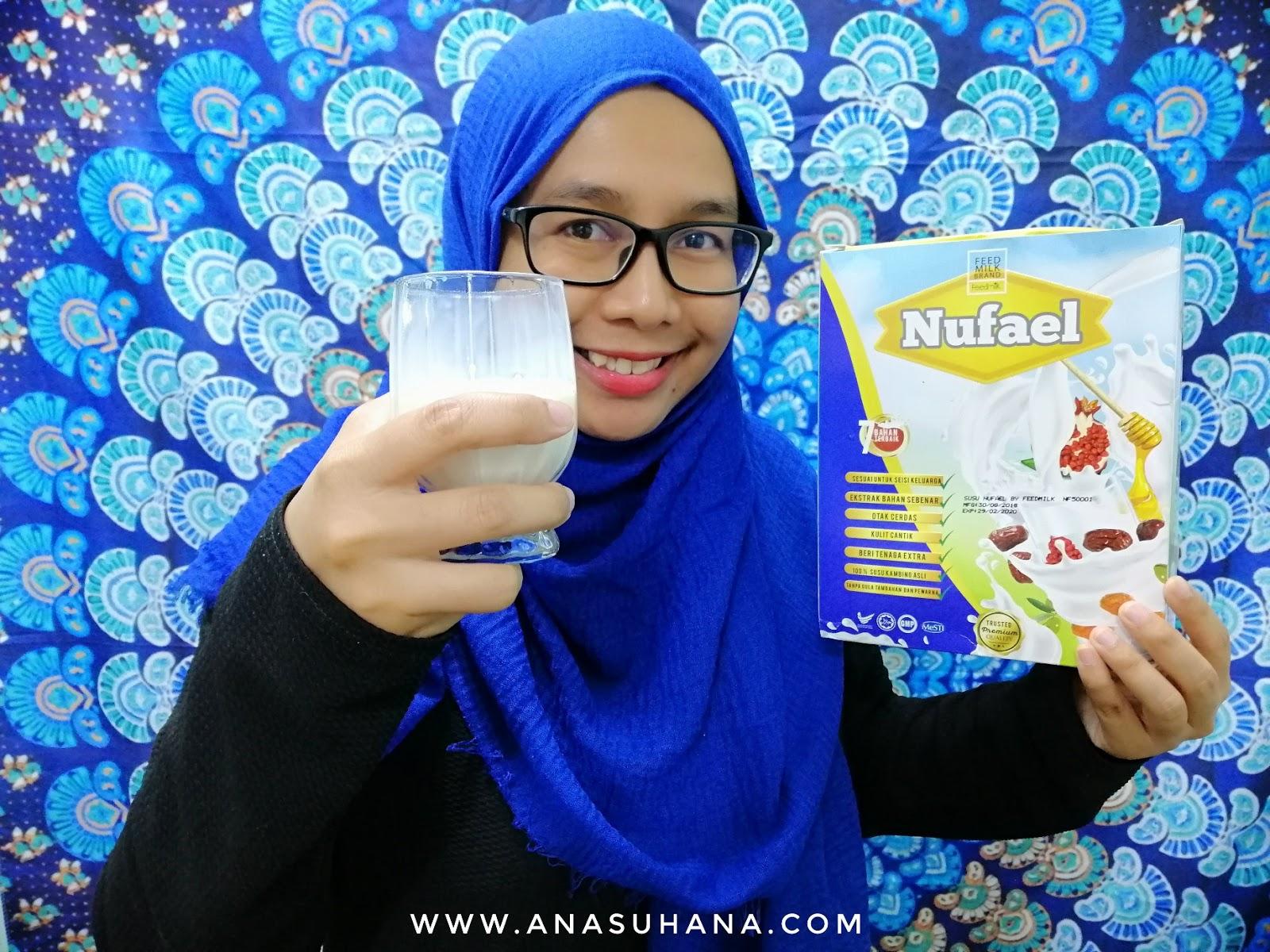 Susu Nufael - Susu Kambing Dengan Bahan Semulajadi