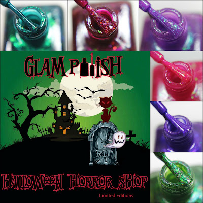 Glam Polish Halloween Horror Shop Collection