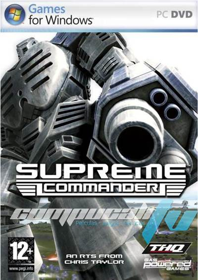 Supreme Commander 1 PC Full Español