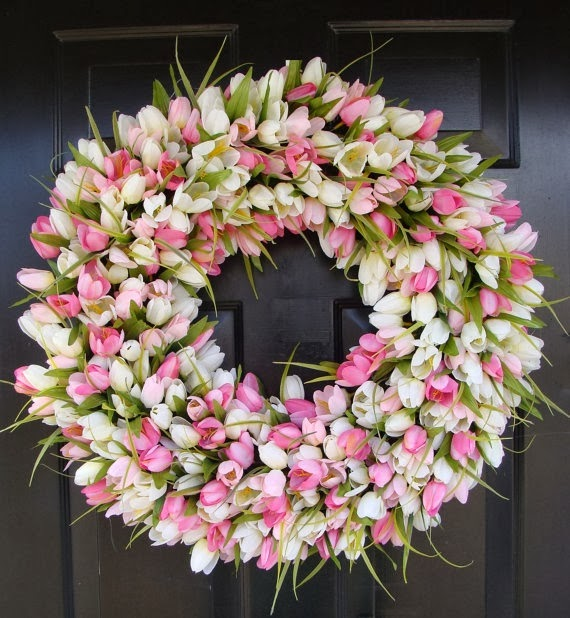 Backyard Ideas For Spring Decorating 6 Tips To Make: Crafty Texas Girls: 11 Unique Spring Wreaths