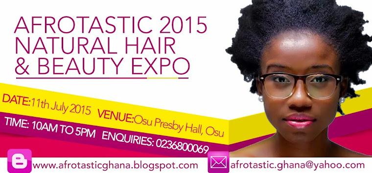 AFROTASTIC GHANA NATURAL HAIR EVENT: More Vendors(Make Up