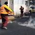Video. Se asfalteaza strada Bucuresti