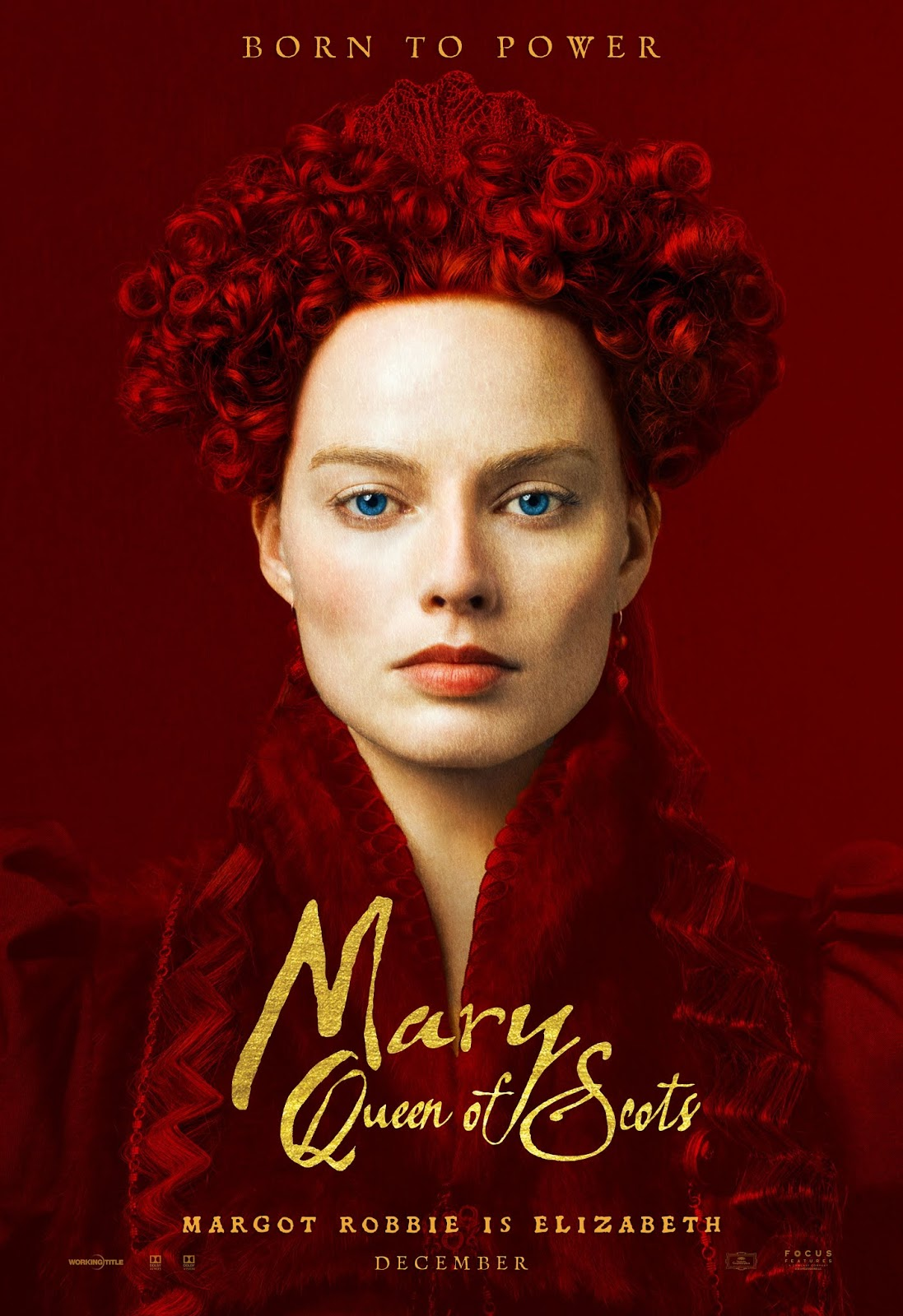 Mary Queen of Scots character poster
