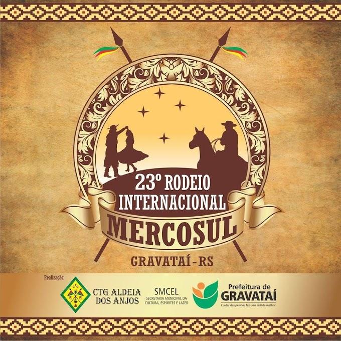 GRAVATAÍ:  23º Rodeio Internacional do Mercosul está chegando