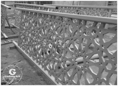 Railing Tangga Masjid