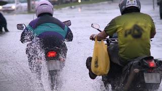 Alerta de chuva e ventos fortes continua para 64 municípios; veja