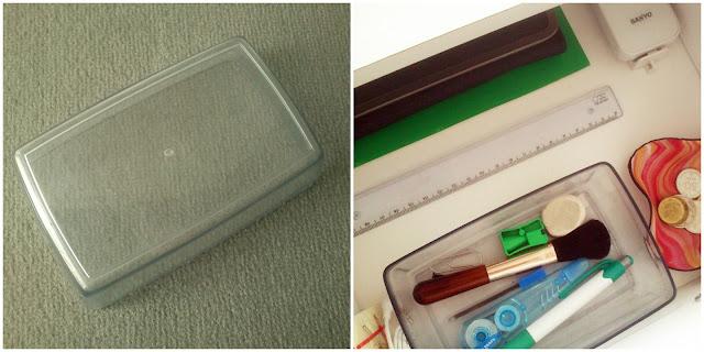Kutija od čokoladica kao spremnik za uredski pribor