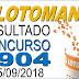 Resultado da Lotomania concurso 1904 (25/09/2018) ACUMULOU!!!