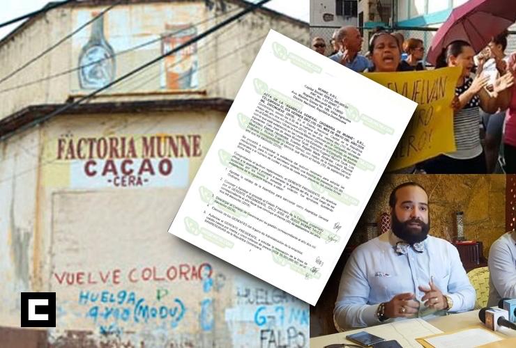 Afirman fraude atribuido a empleados no fue causa de quiebra en Munné