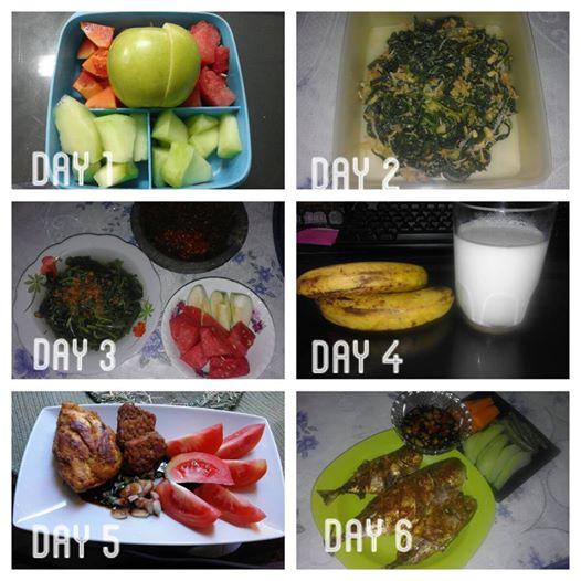 Diet GM : Turun 4 Kg dalam 5 Hari