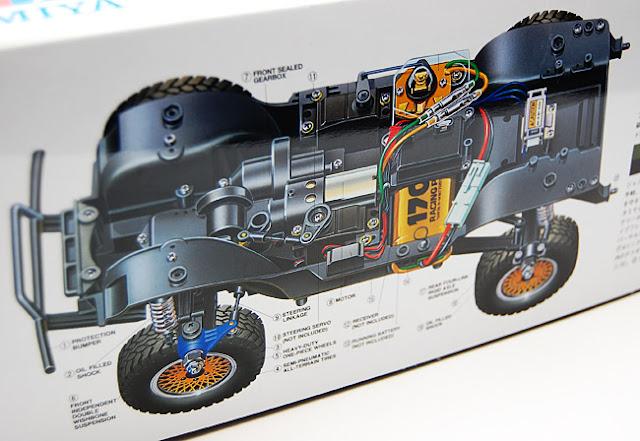Tamiya Jeep Wrangler box details