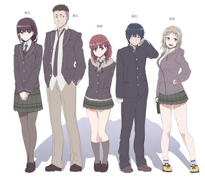 Hazuki Morikawa, Haruto Soma, Mio Natsumi, Eita Izumi y Ena Komiya