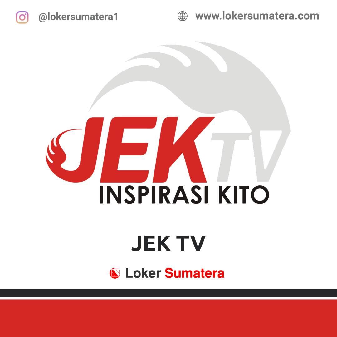 Lowongan Kerja Jambi: JEKTV Jambi Agustus 2020