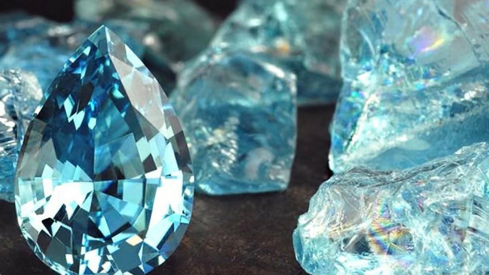 piedras preciosas aguamarina