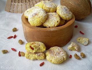Ciasteczka z mąki kokosowej dla diabetyków