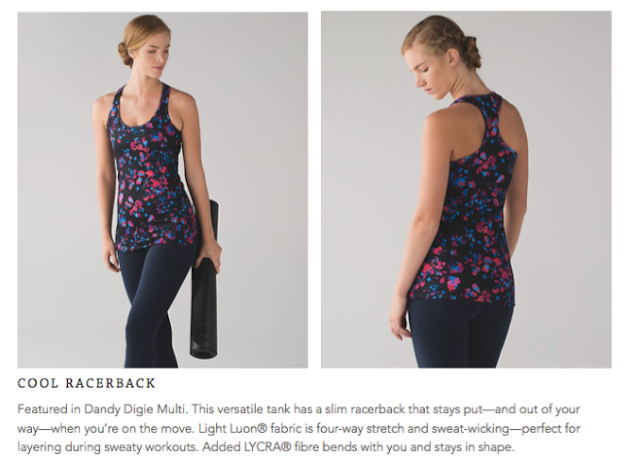 lululemon dandy-digie-multi cool-racerback