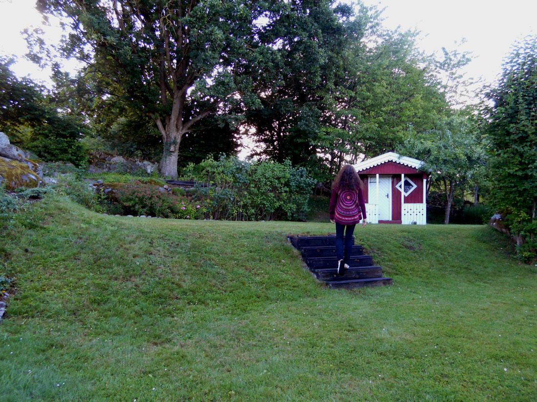 In giardino, 2 agosto 2016