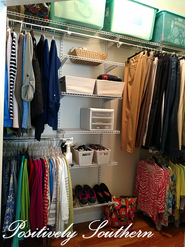 Since The Closet Underwent The Transformation I Have Truly Enjoyed It. It  Has Been Easy To Keep Everything Organized. No More Just Throwing Clothes  On The ...