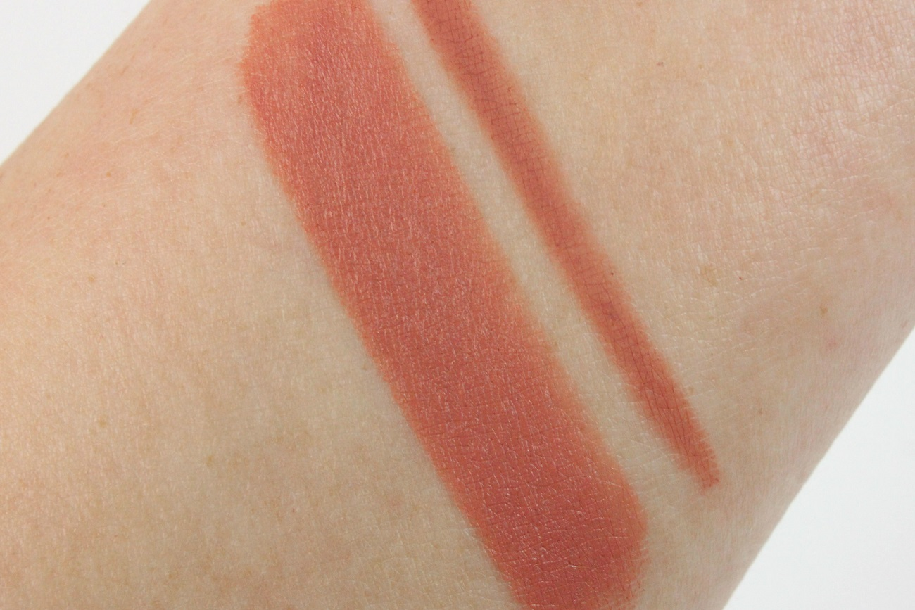 amu, bordeaux, burgundy, burgundy times nine, double time, eyeshadow, kinda sexy, lidschatten, lipliner, lippenstift, mac, matte lipstick, nude, palette, pro longwear lip pencil, review, swatches, tragebilder,