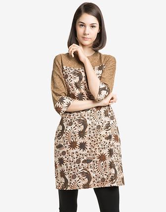 Model Blus Batik Dengan Kombinasi Yang Paling Modis