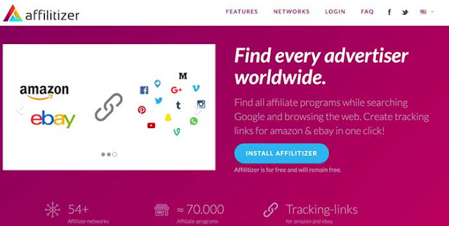 How to Discover New Affiliate program with Free Affilitizer Chrome Addon : eAskme