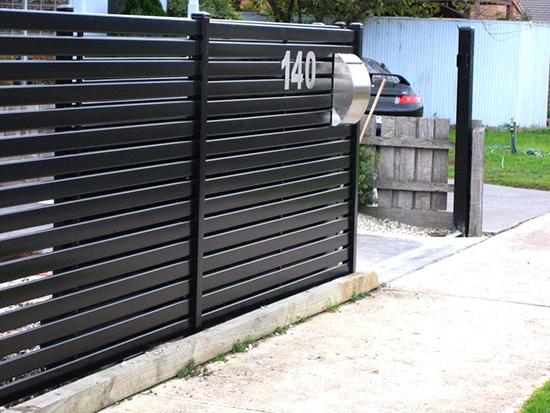 contoh pintu pagar rumah minimalis