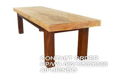 meja kantor kayu utuh tanpa sambungan,meja kantor kayu trembesi panjang 3meter,trembesi jepara