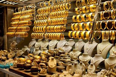 انخفاض سعر الذهب الاردنى داخل الاسواق وتسجيل سعر مرتفع داخل محال الصاغة الان